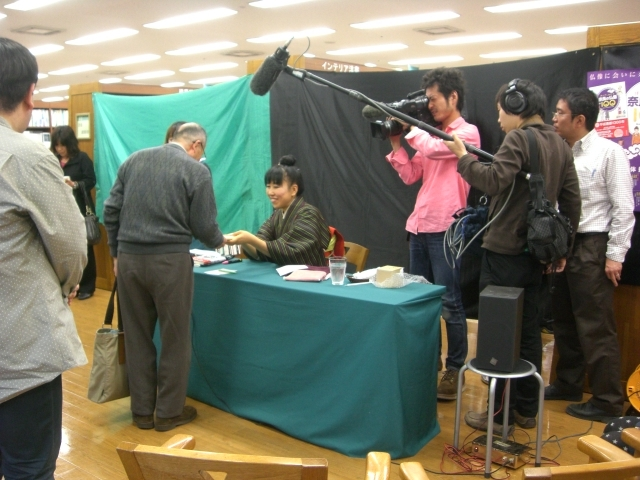 「拝んでしあわせ奈良の仏像100」出版記念トークショー&サイン会